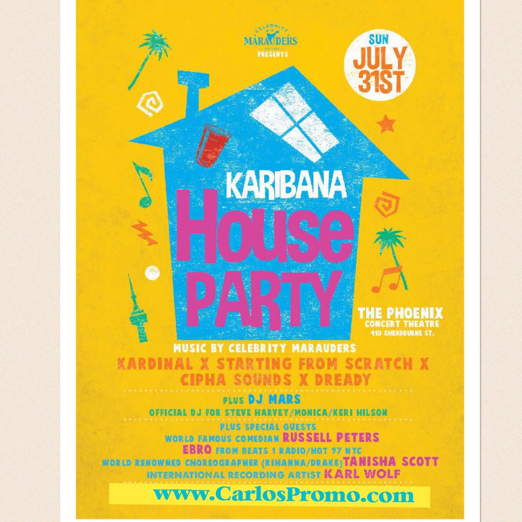 Caribana house party 2016