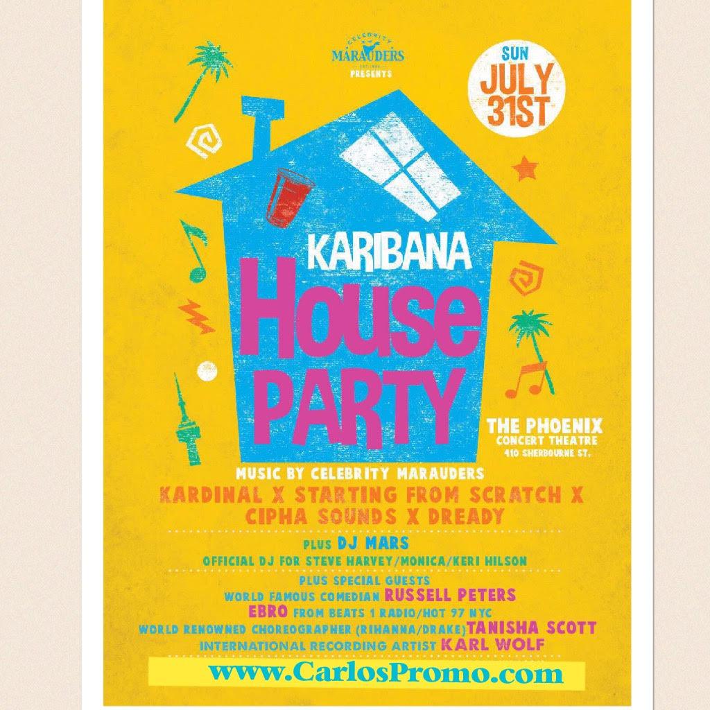 Caribana house party 2016